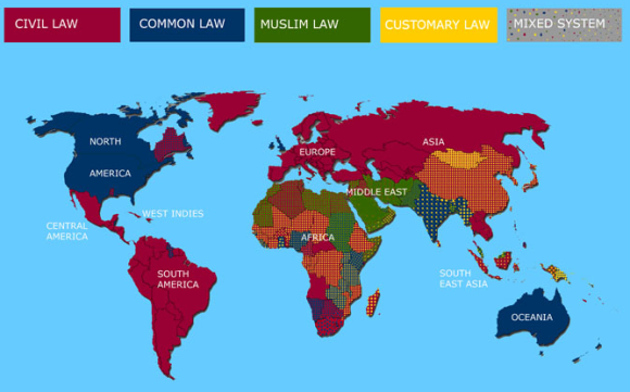 Legal Systems of the World Updated
